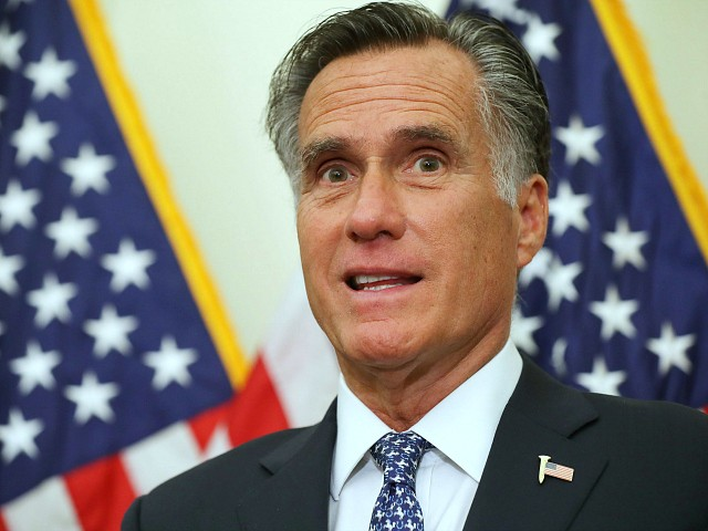 Romney: Hunter Biden Probe a 'Political Exercise' -- 'Not the Legitimate Role of Government'