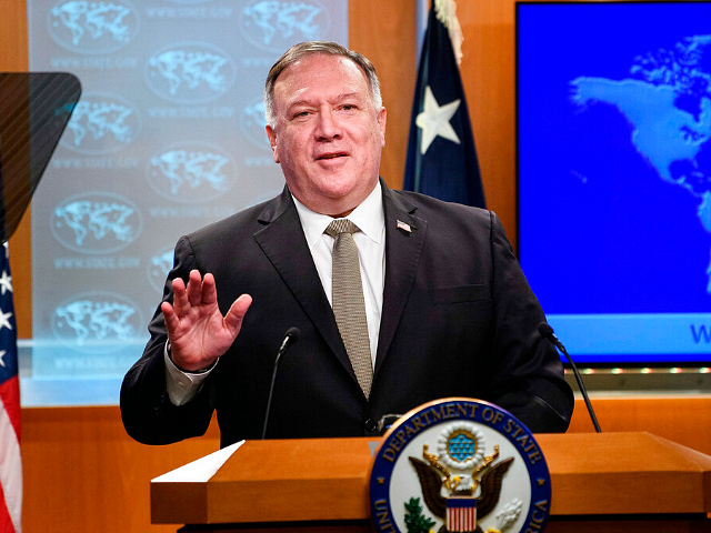 Pompeo Responds to China Report: We Are Making Sure America Has Tools to Respond to Chinese Military Threat