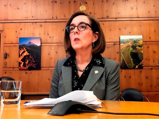 Oregon Gov. Brown on Ending Portland Protests: 'It Will Take Time' to 'Eradicate the Racism' in Systems