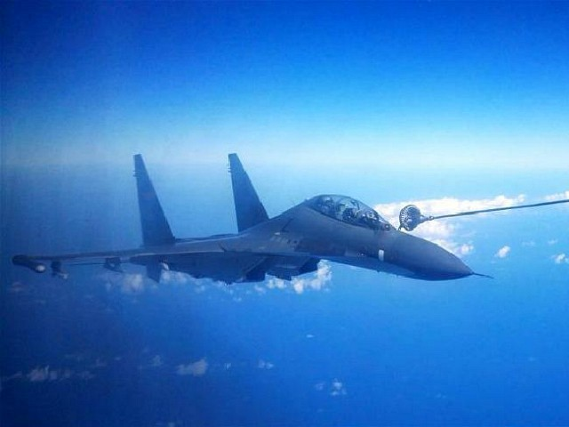 Chinese Warplanes Enter Taiwanese Airspace for Second Day in a Row