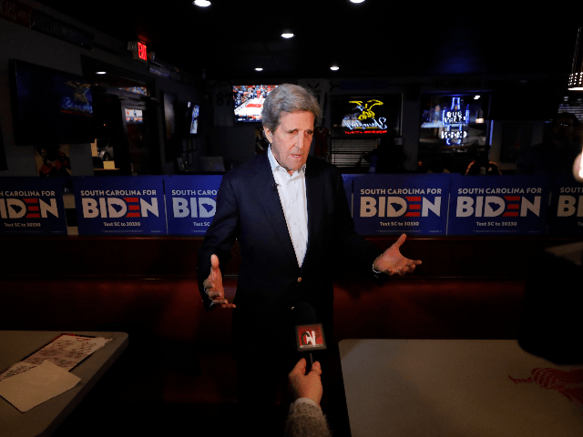 John Kerry Praises Self for Middle East Peace Deal He Deemed Impossible