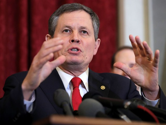 Sen. Steve Daines: Leftist Mob Is Throwing Money at Senate Election in Montana