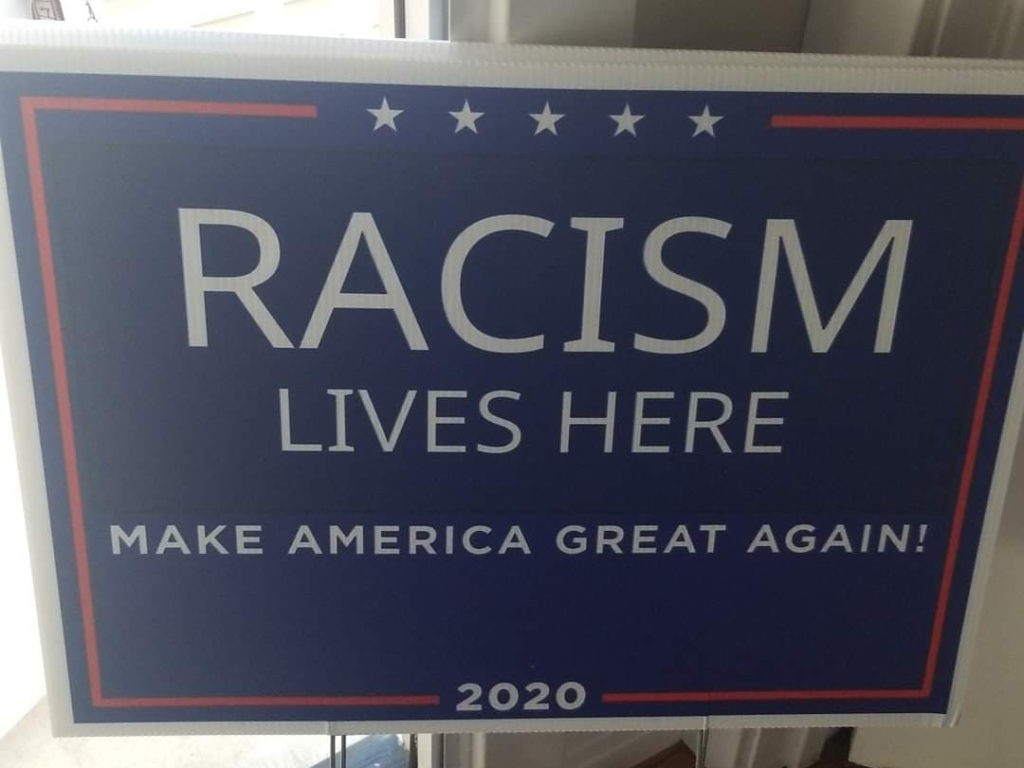 'Racism Lives Here': Trump Supporters Targeted in Coronado with Rogue Yard Signs