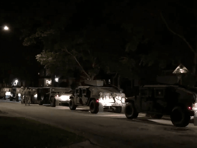 WATCH: National Guard Deploys in Wisconsin to Enforce Curfew