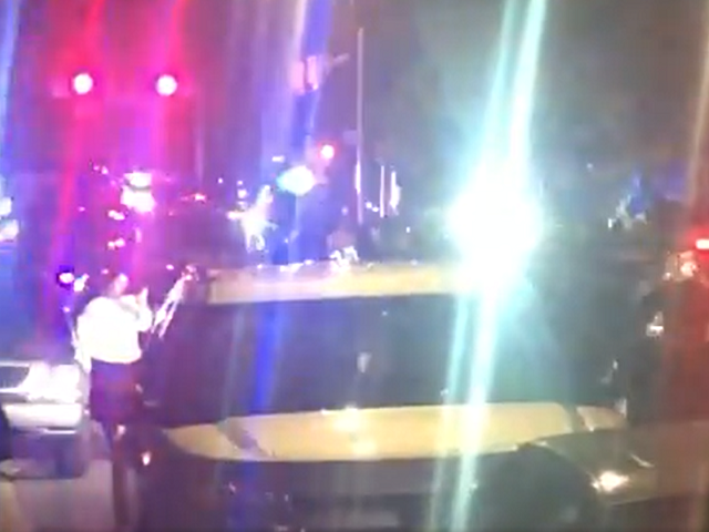 Watch: Protesters Attack Police Cars in 2nd Night of Rhode Island Riots