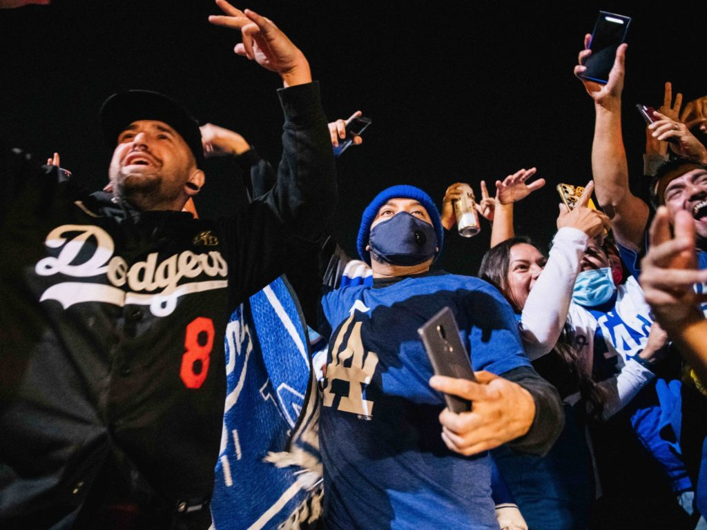 Dodgers, Lakers Celebrations Spread Coronavirus in L.A., Officials Say