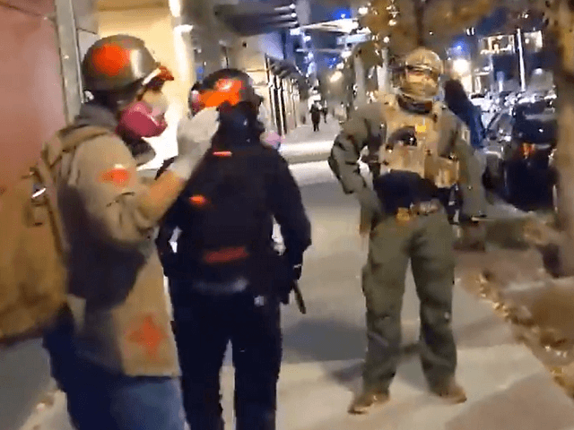 Watch: Antifa Medic Calls for Federal Agent to Be 'Executed'