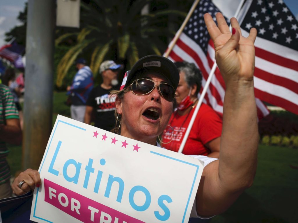 Latino Support for Trump in California Jumps 8 Points in One Month