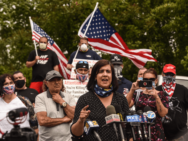 EXCLUSIVE--Congressional Nominee Nicole Malliotakis: 'America's Core Values on the Ballot'