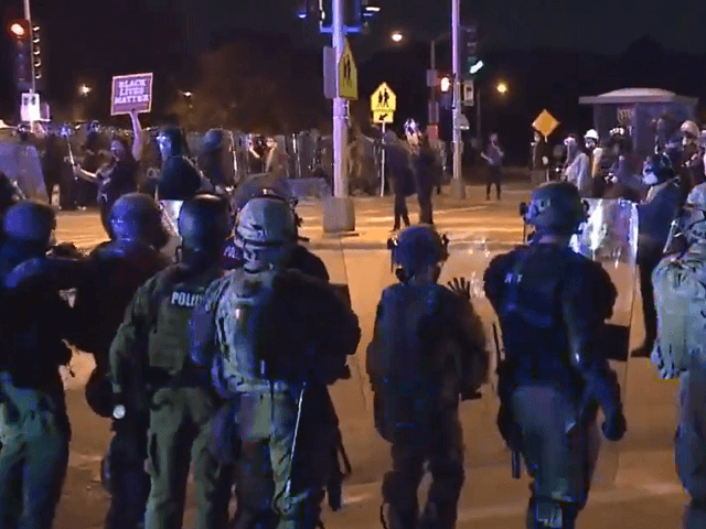 WATCH: Wisconsin Protesters Defy Curfew Orders for Third Night