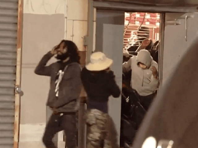 Looting Continues During Overnight Rioting in Wake of Philadelphia Police Shooting Armed Black Man