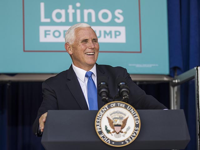 Mike Pence Moves to Seal Deal for Trump in Sunshine State: 'Road To Victory Runs Right Through Florida'
