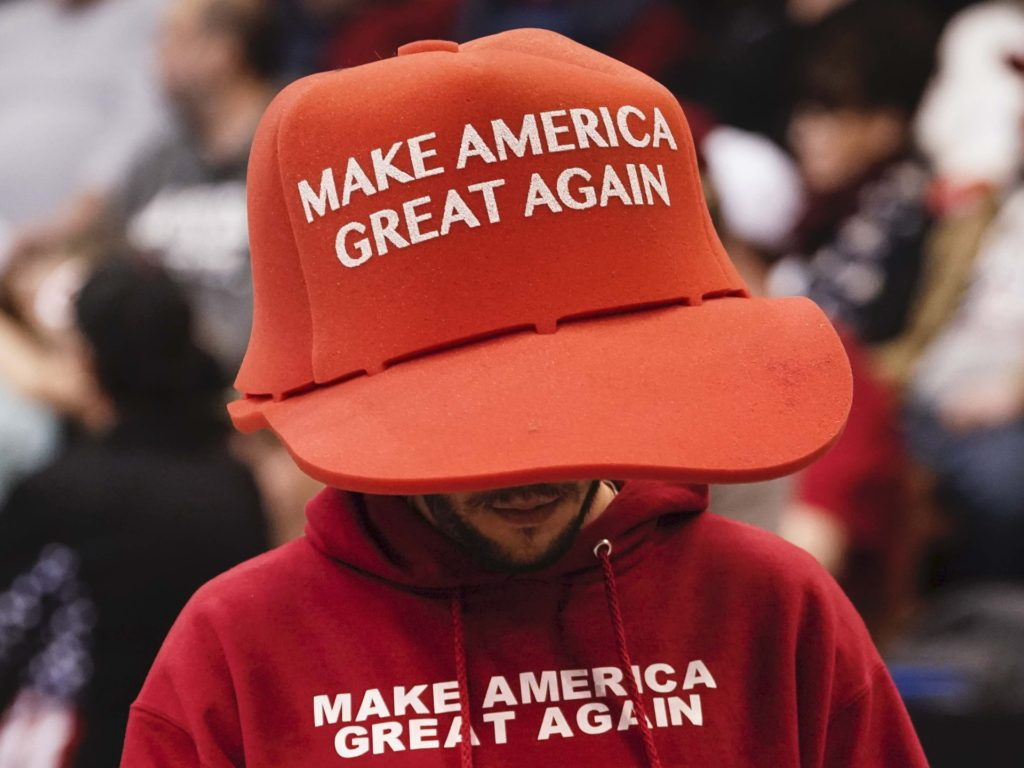 MAGA Hats Allowed in California Polling Places