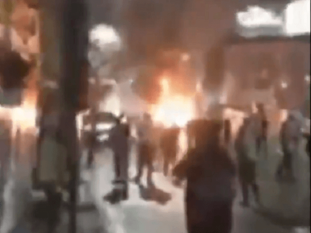 Protesters Attack Police, Burn Police Cruiser in Philadelphia