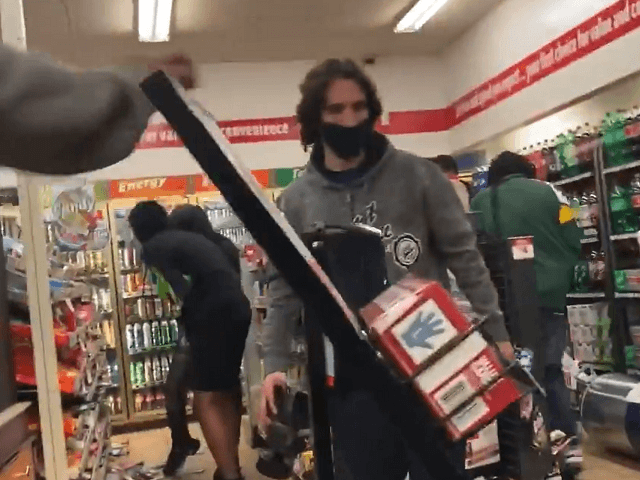 Looting Begins as Violent Protest Continues in Wisconsin