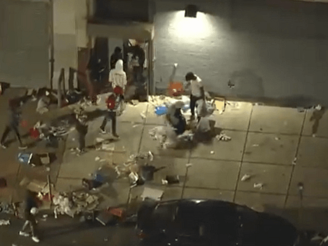Watch: Aerial Footage Shows Protesters Looting in Philadelphia