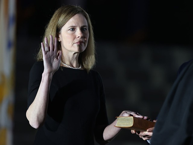 Report: Democrats Consider Impeaching Justice Amy Coney Barrett if She Doesn't Recuse Herself