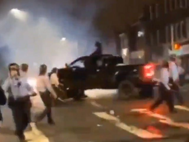 WATCH: Driver Runs Down Philadelphia Cops During Protest -- Officer Injured