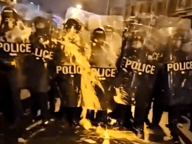 Watch: Protest Turns Violent After Cops Shoot Man Armed with Knife in Philadelphia