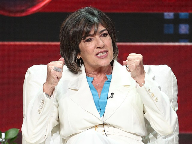 CNN's Christiane Amanpour Likens Trump's Tenure to Nazi Germany