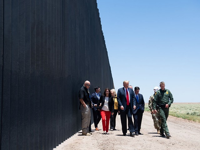 Charles Hurt -- Democrats New Battle Cry: 'Mr. Biden, Tear Down That Wall!'