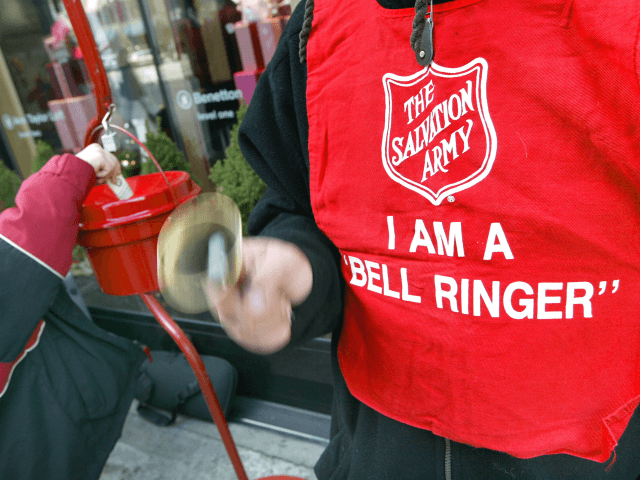 Anonymous Donor Drops Gold Coin in Las Vegas Salvation Army Red Kettle