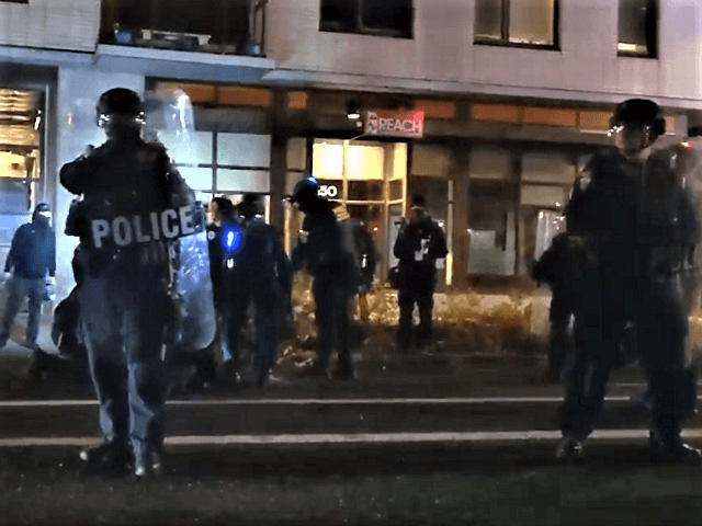WATCH: Multiple Arrests After Antifa Vandalizes Portland ICE Facility -- Again