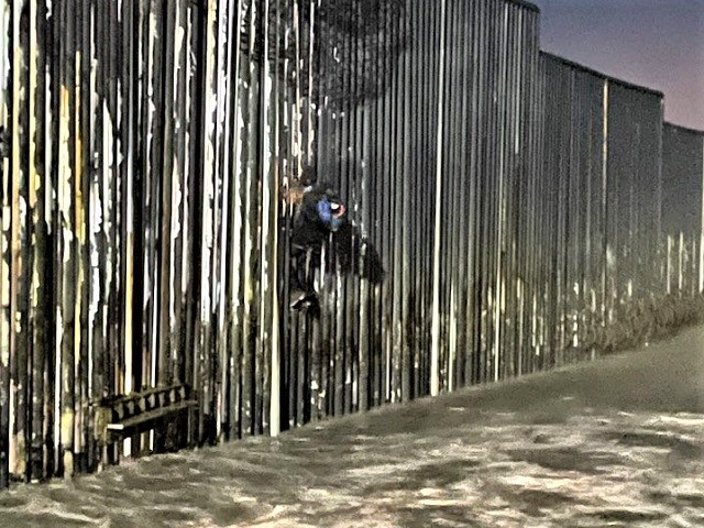 Migrant Rescued After Getting Stuck on California Border Wall