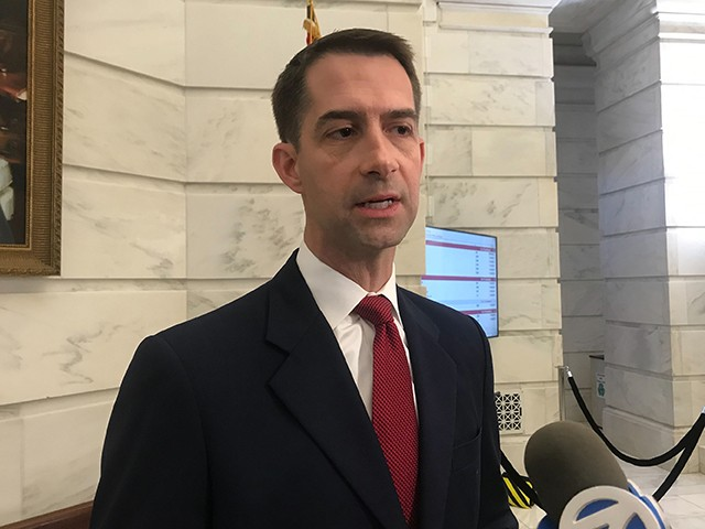 Cotton: Senate GOP Stopped Democrats from Bailing Out Cities, States
