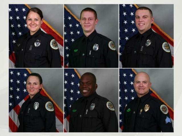 Six Nashville Police Officers Recognized for Evacuating People Before Explosion