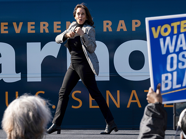 Kamala Harris: 'It Is Within Our Power' to Change 'the Balance' in the Senate