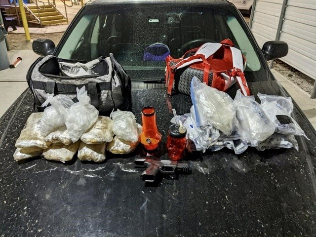 25 Pounds of Meth Seized on Christmas at Arizona Checkpoint near Border