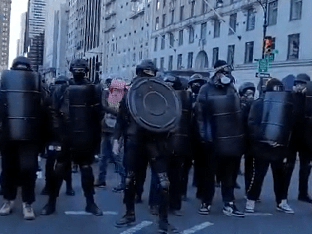 WATCH: Antifa in Riot Gear, BLM March in NYC, Female Journalist Attacked