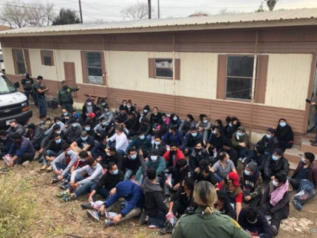 161 Migrants Apprehend in 4 Human Smuggling Incidents in Texas near Border