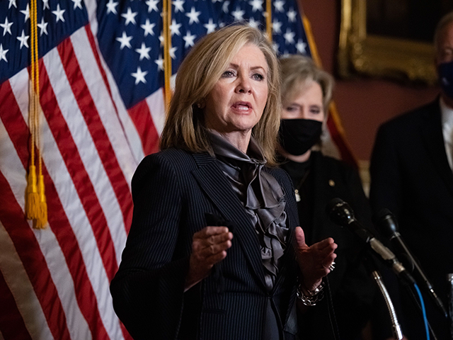 Exclusive -- Marsha Blackburn: If Democrats Take Senate, Gender Specificity Will Be 'Completely Eliminated'