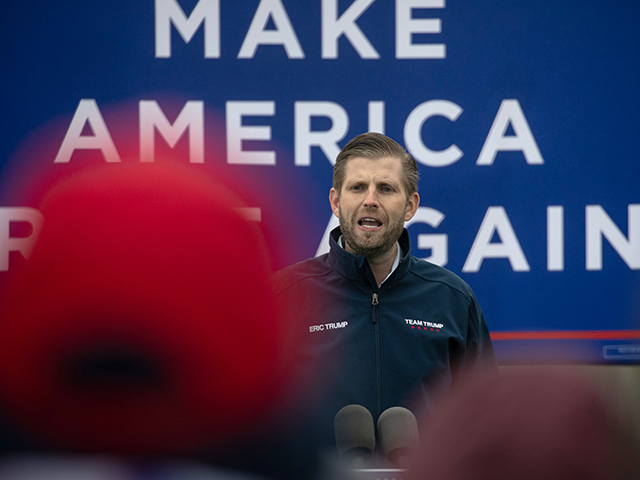 Eric Trump: Family Business Cancellations Part of 'Cancel Culture'