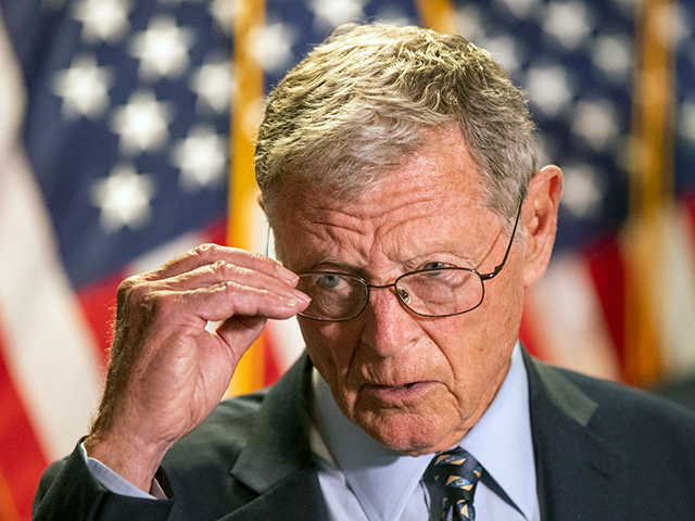 GOP Sen. Jim Inhofe: Objecting to Election Certification 'a Violation of My Oath of Office'
