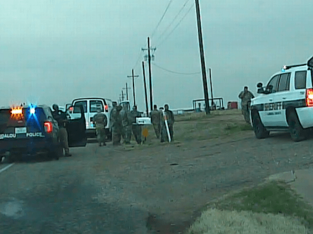 An armed Arizona man ambushed a Texas National Guard convoy carrying doses of COVID-19 vaccines on a highway northeast of Lubbock, according to local police officers. The man reportedly attempted to run the convoy off the road and then held the guardsmen
