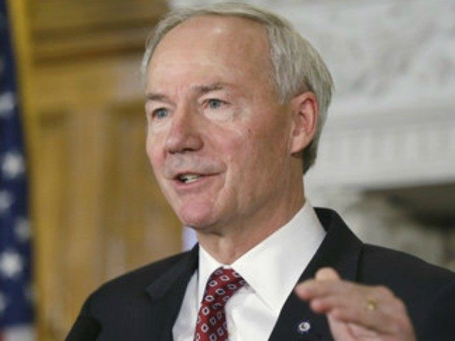Arkansas Gov. Asa Hutchinson (R), who lifted most COVID-19 restrictions put in place on businesses in his state last week, has reaffirmed that he is committed to ending a statewide mask mandate should hospitalizations and the number of reported cases cont