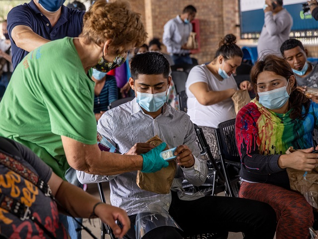 Municipal officials in Brownsville, Texas, say that six percent of migrants released into their community who are tested for COVID-19 are getting positive results. More than 100 tested positive since the releases began in late January.