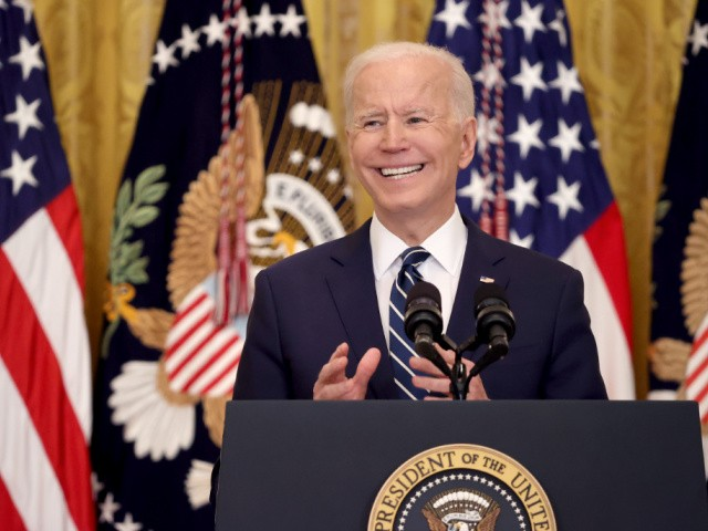 Charles Hurt: Biden Joshes with Press as Crisis Befalls America
