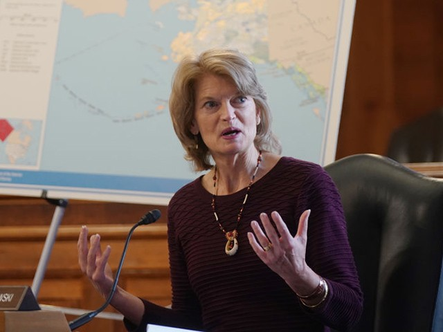 Poll: Lisa Murkowski Losing to GOP's Kelly Tshibaka by Double Digits