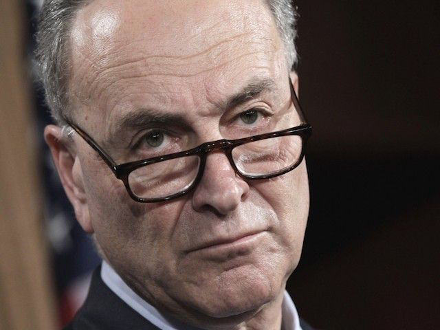 Schumer: Trump's Border Wall Won't 'Get the Votes on Either the Democratic or Republican Side'