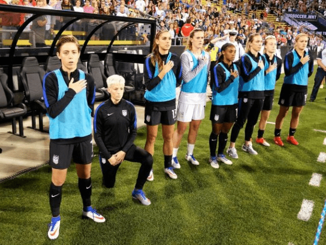 US Woman's Soccer Player Rapinoe Won't Stop Speaking Out on Social Issues