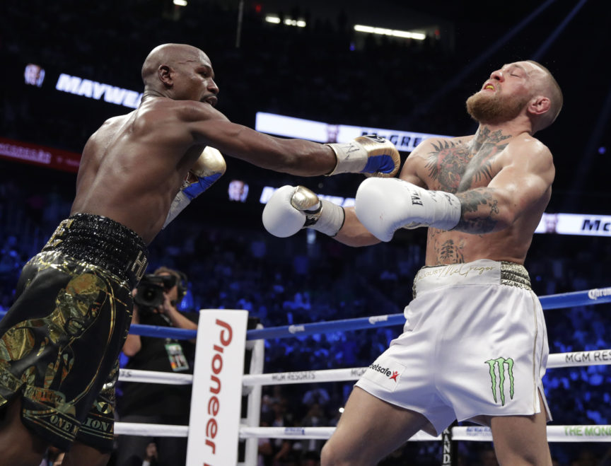 Floyd Mayweather Beat Conor McGregor with His Brain