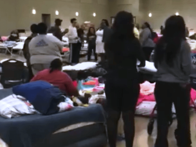 WATCH: Spontaneous Gospel Singing Fills Harvey Evacuation Shelter