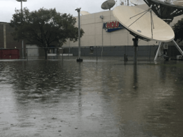 'Harvey' Floodwaters in Houston Force CBS TV Affiliate Out of Station