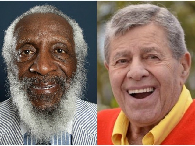 Flynn: Jerry Lewis and Dick Gregory, Comic Geniuses If Only They Were Funny