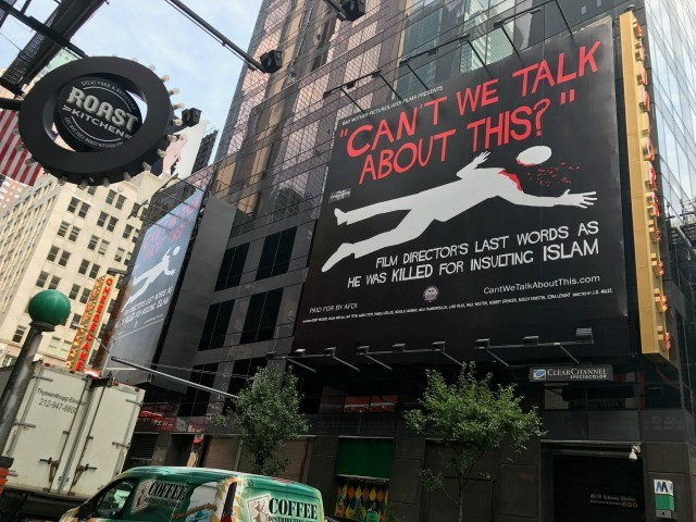 Geller: Dueling Billboards from CAIR, AFDI in Times Square