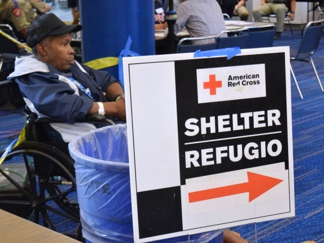 PHOTO ESSAY: Inside One of Houston's Largest Evacuation Shelters